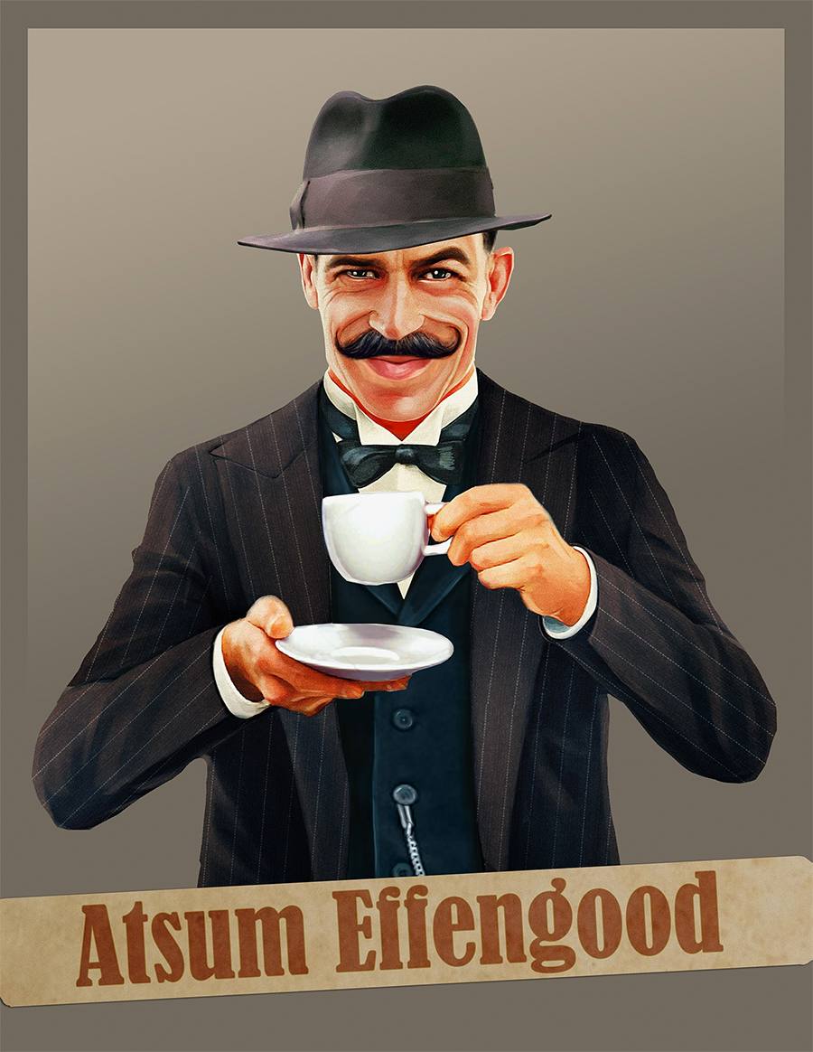 coffee mascot