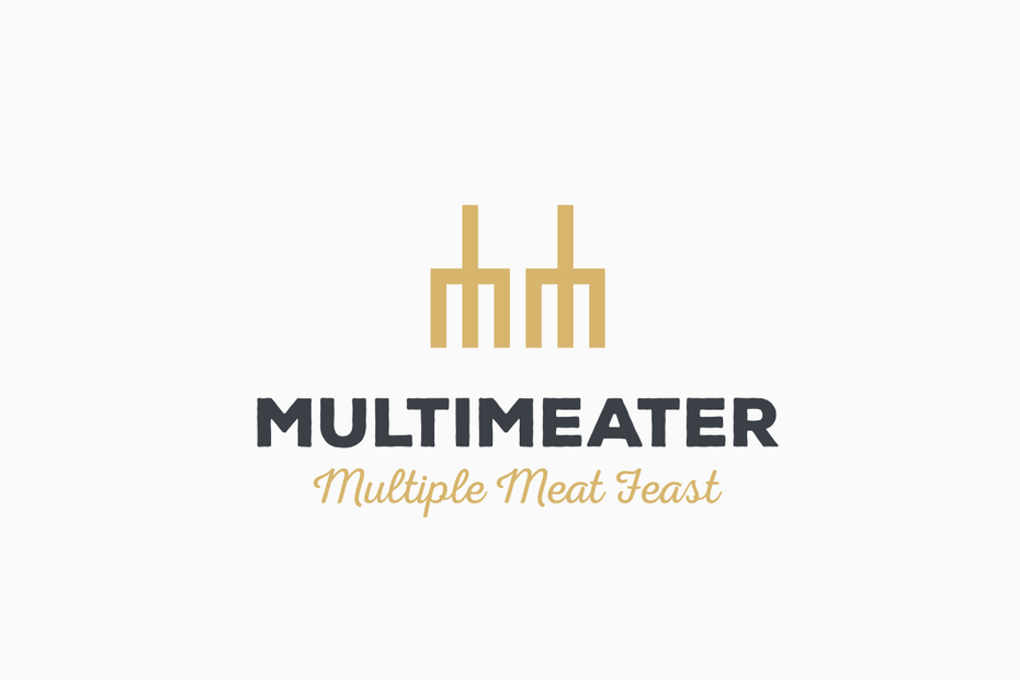 Multimeater multiple meat feast logo