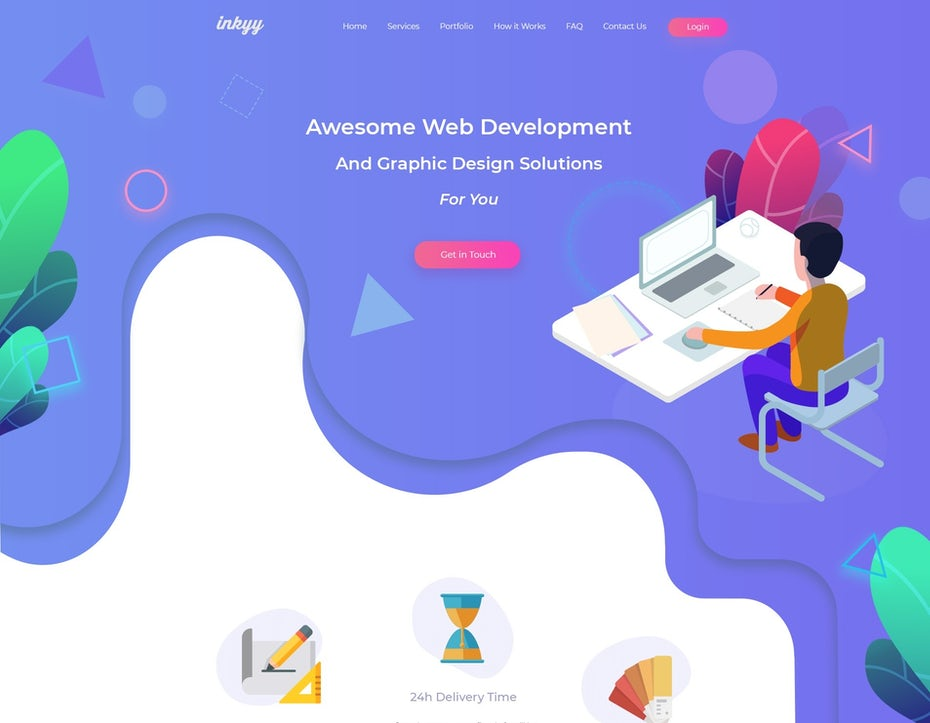 curvy web design