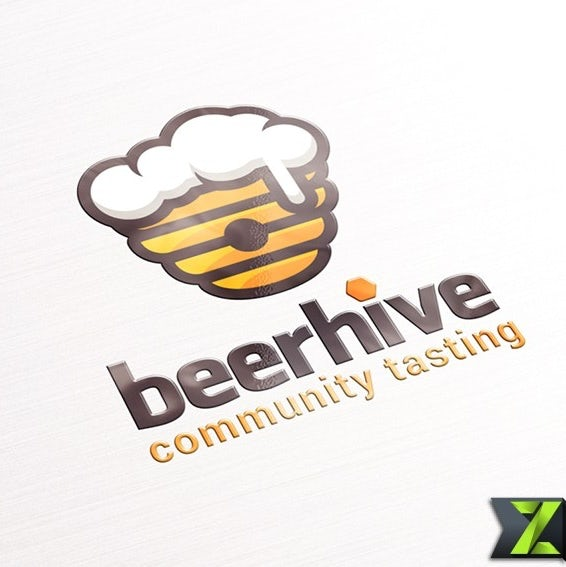 Beehive-shaped beer glass
