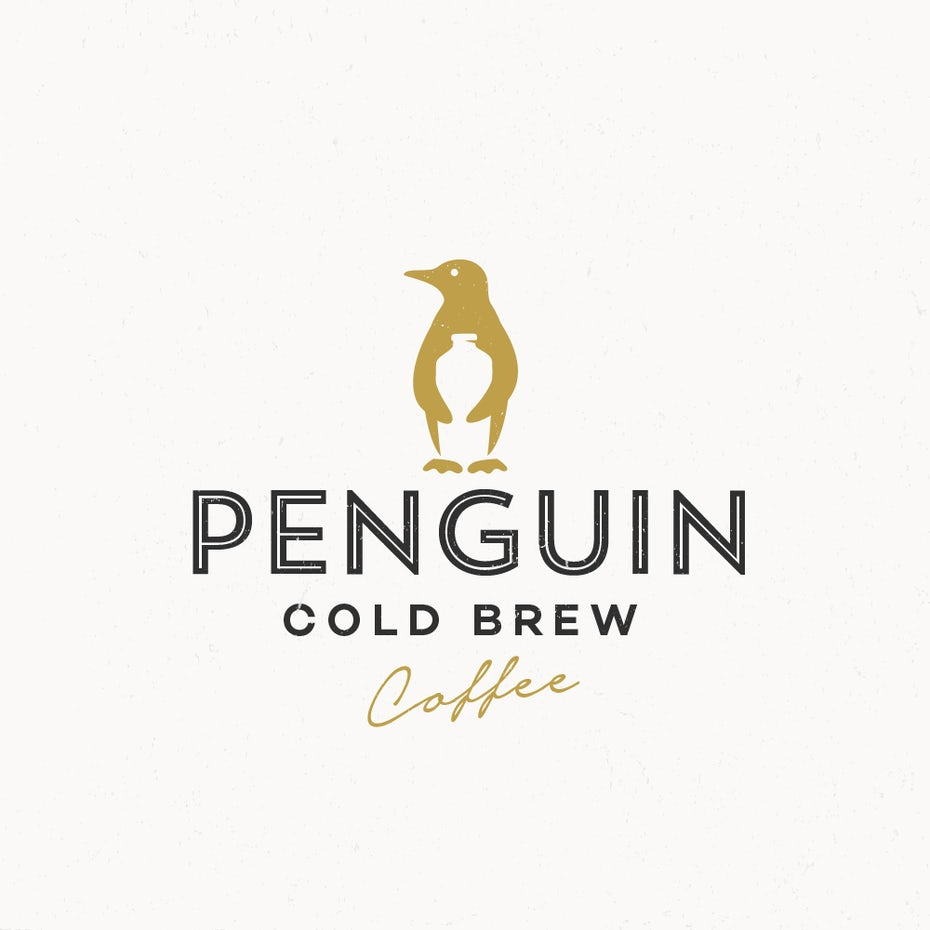 penguin cold brew logo