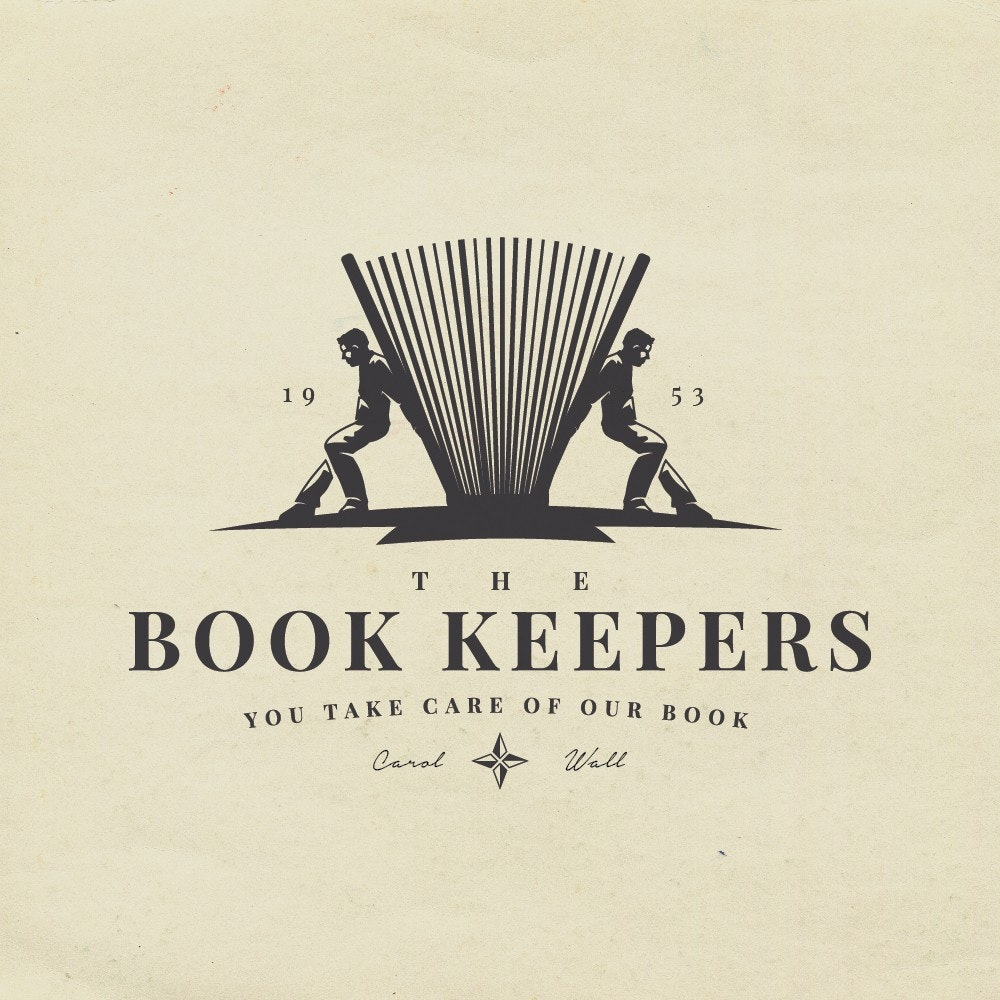 book keeper logo design