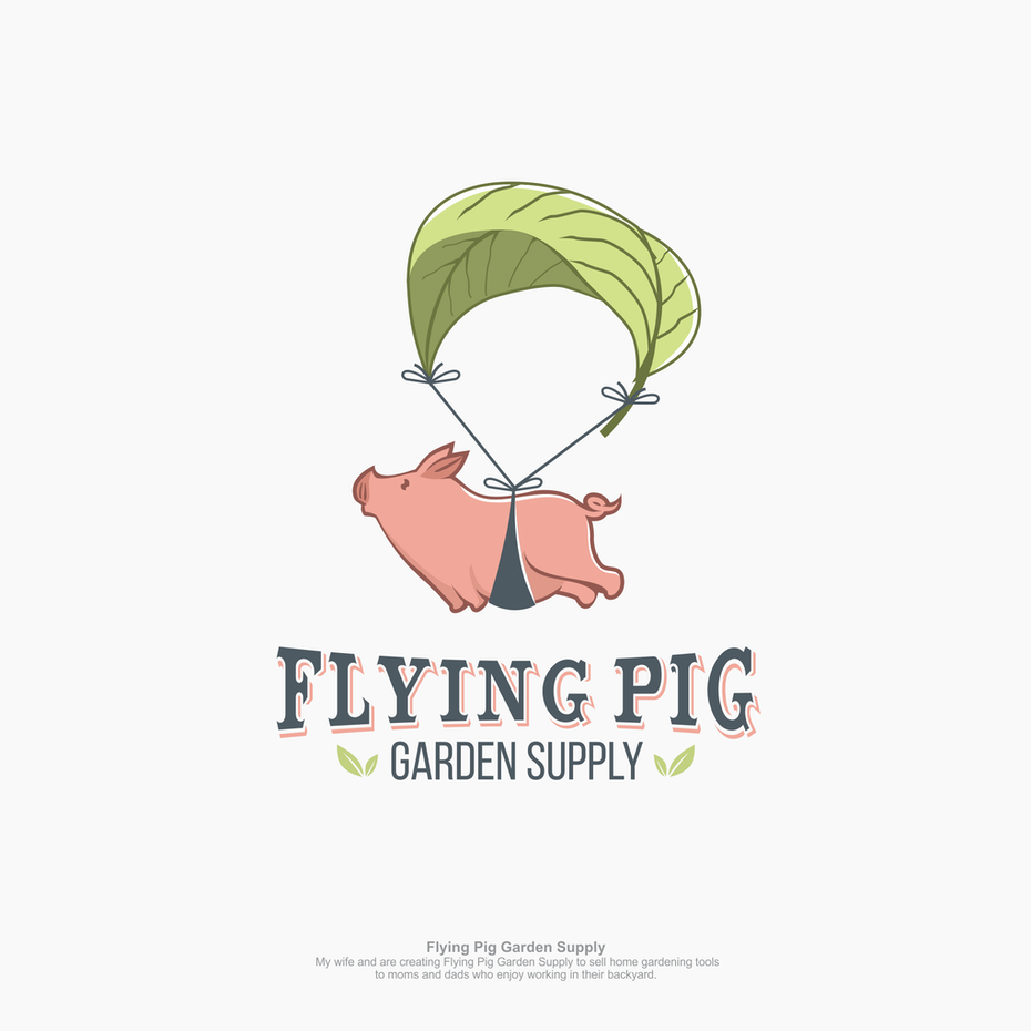 flying pig logo