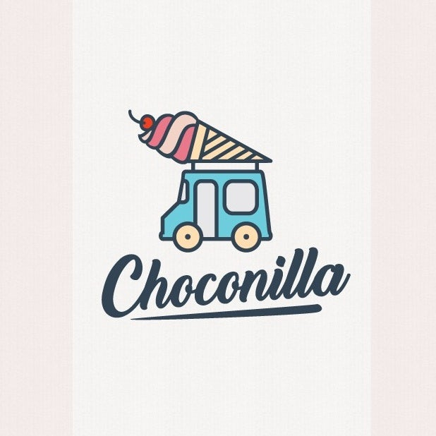 ice cream truck logo