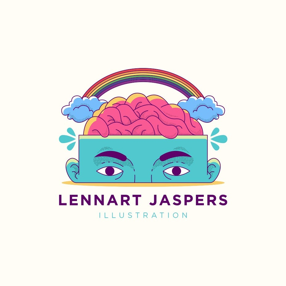Lennart Jaspers Illustration logo