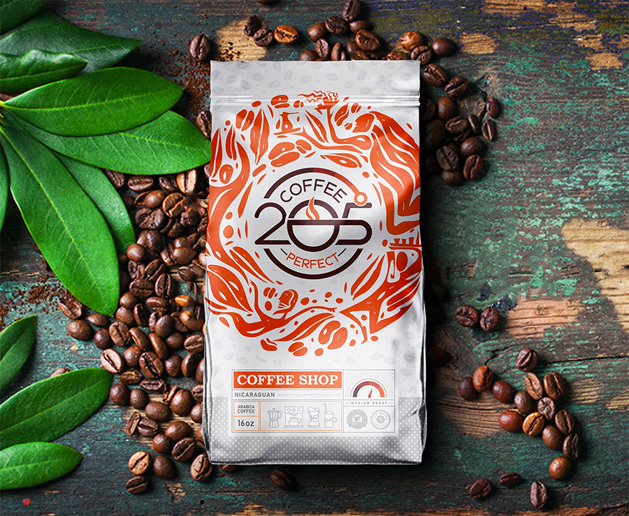 205 Coffee Packaging by K .art