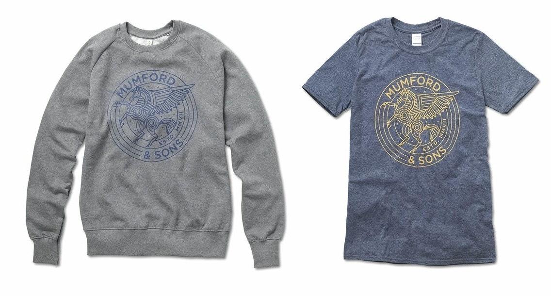 Mumford and Sons shirt designs