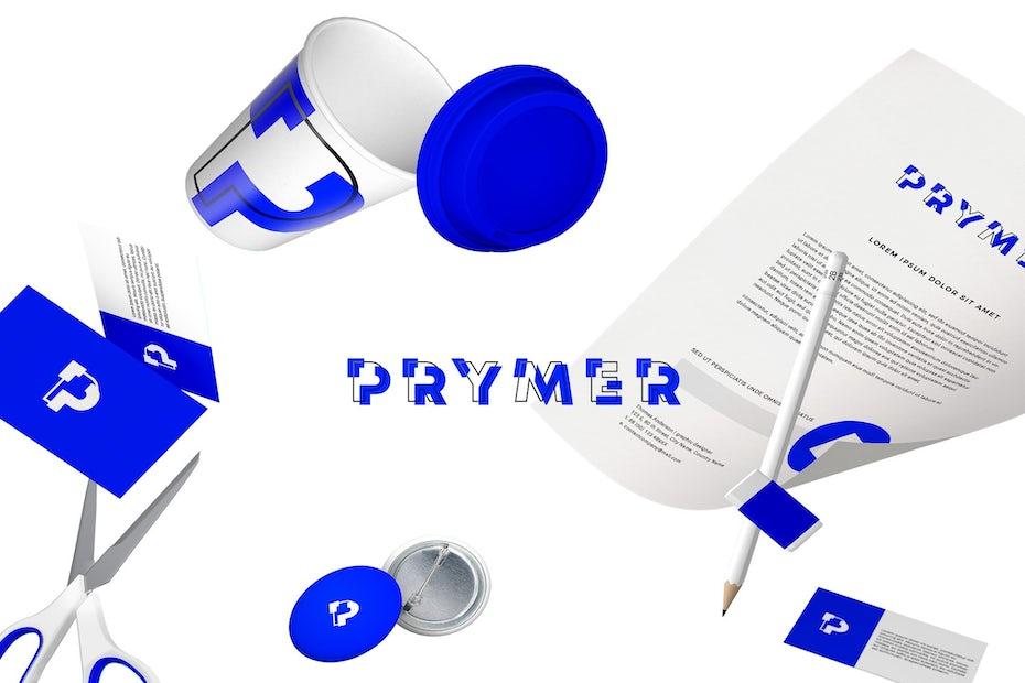 Prymer brand design