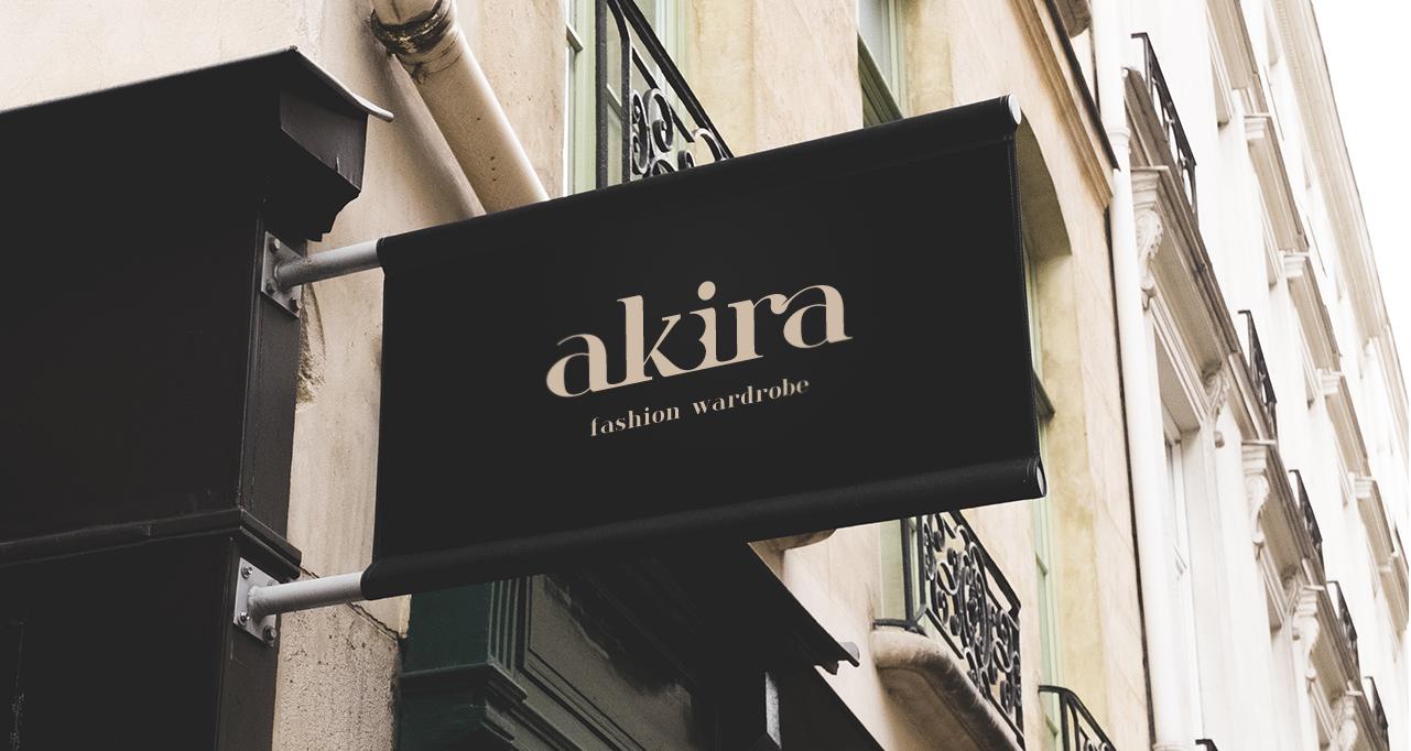 Akira fashion wardrobe logo