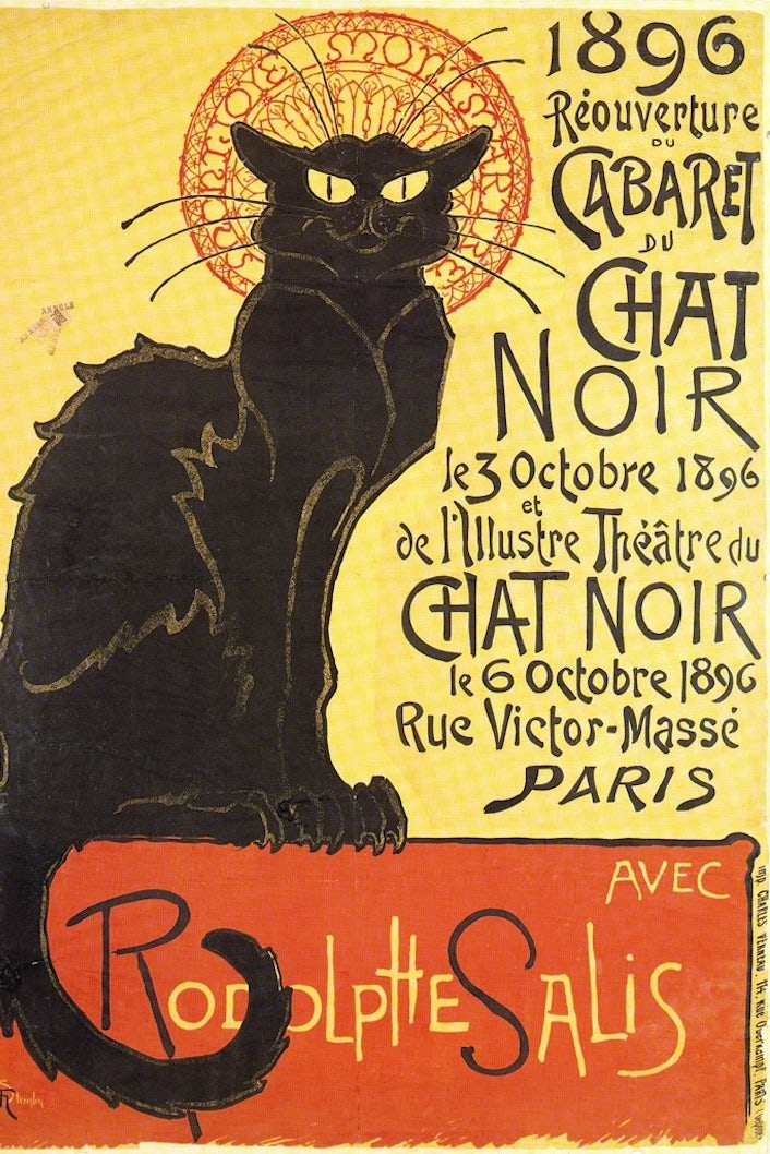 Poster for Cabaret du Chat Noir