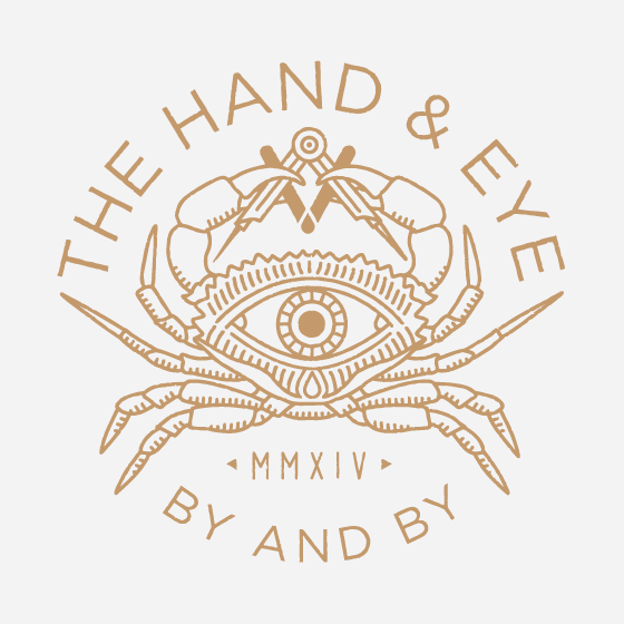 The Hand and Eye logo