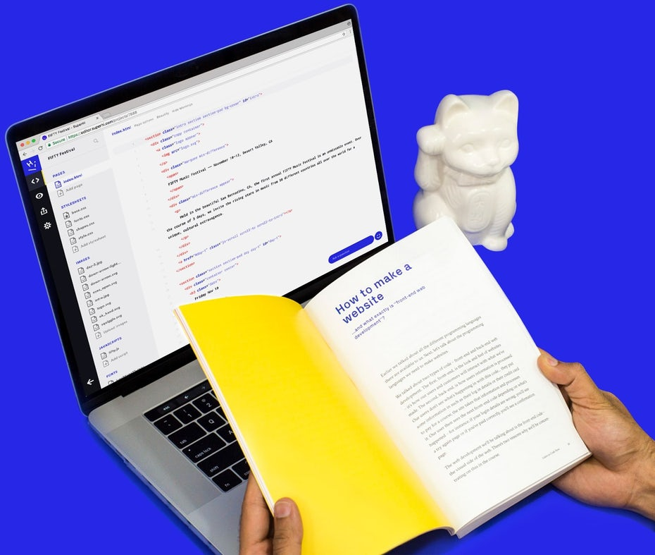 Coding book superhi
