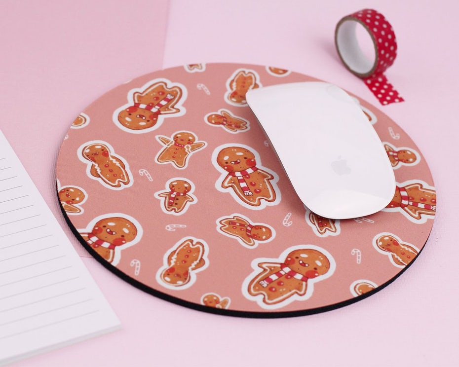 katnipp gingerbread mouse pad
