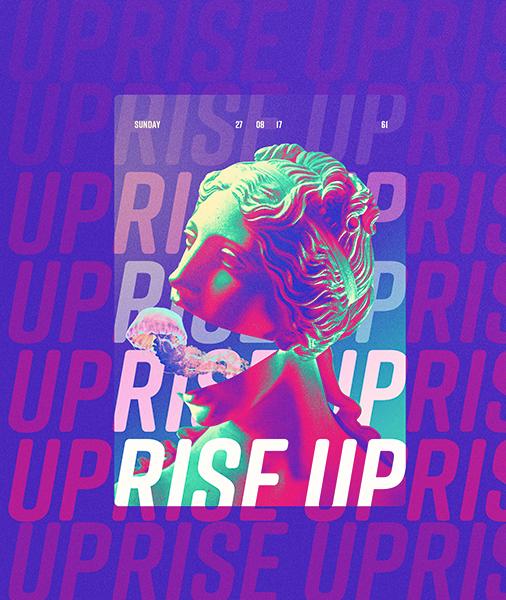 Rise up statue design