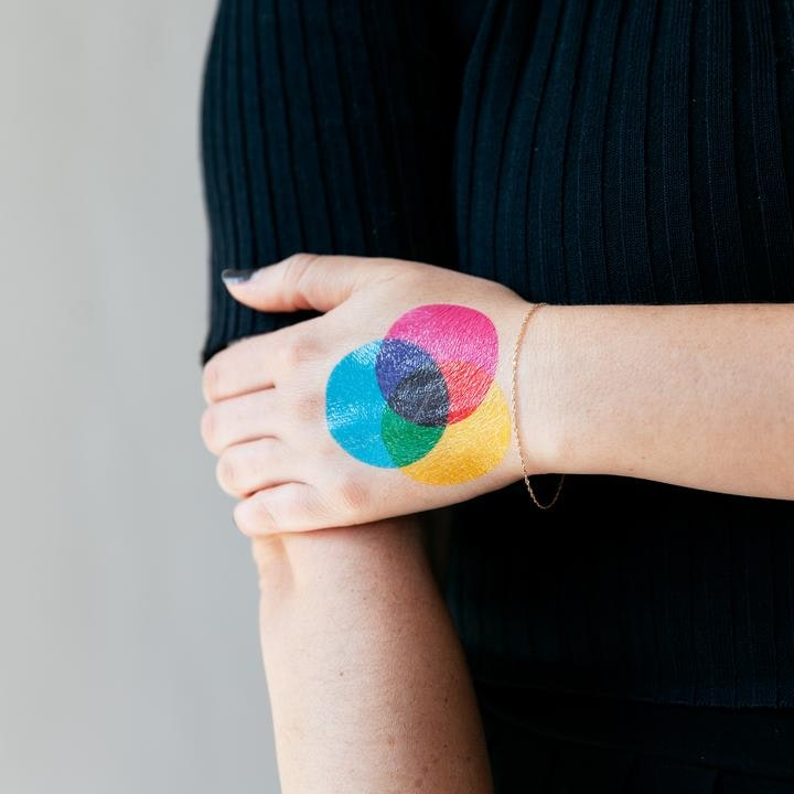 Tattly temporary tattoo