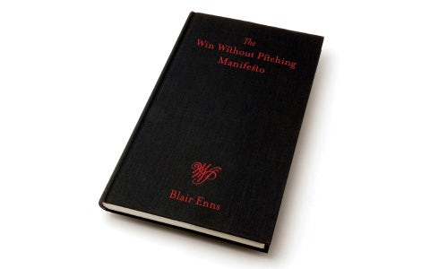 Win without pitching book blair enns