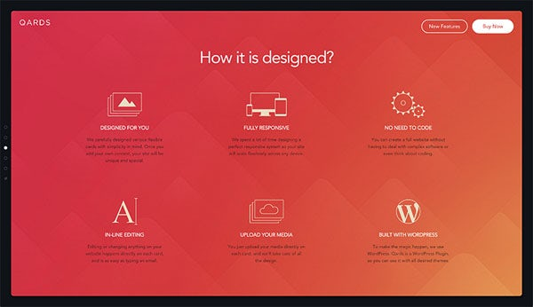 Qards web design
