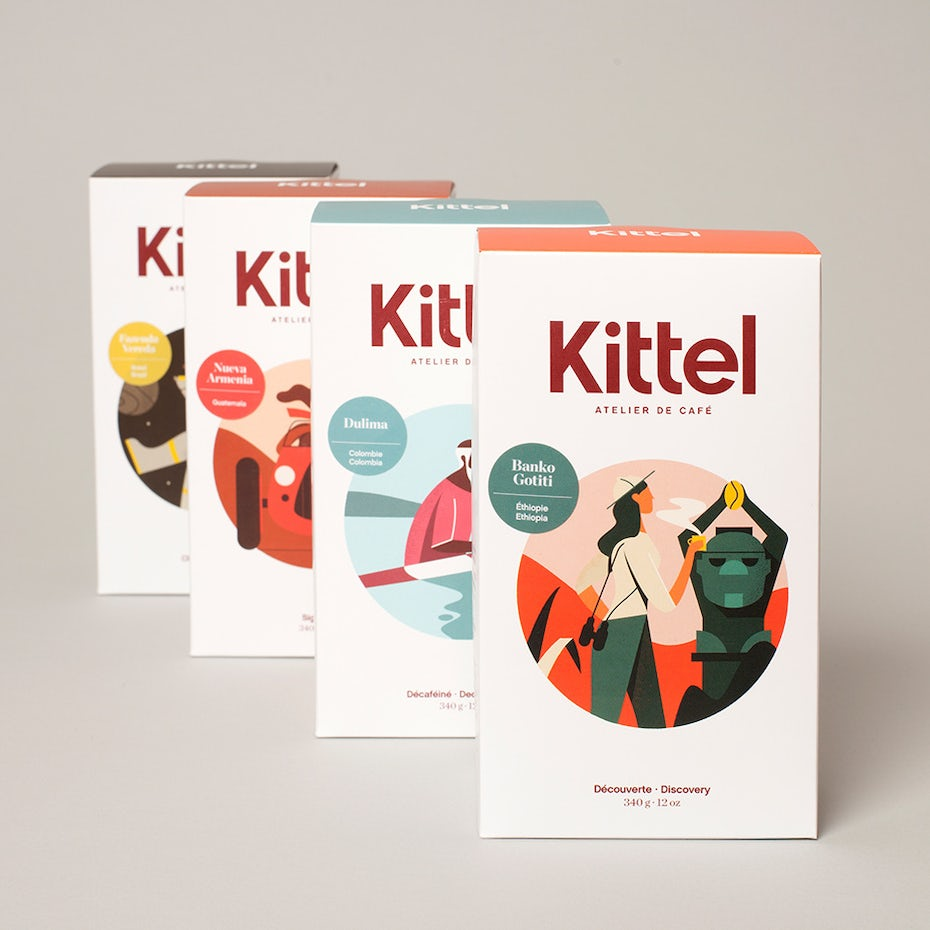 Kittel narrative package design