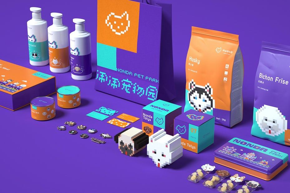 8-bit infused branding
