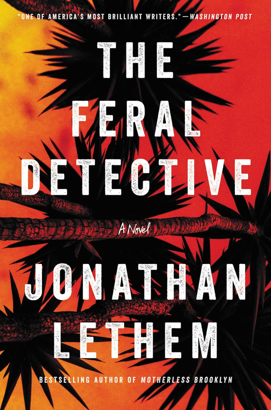 The feral detective book cover