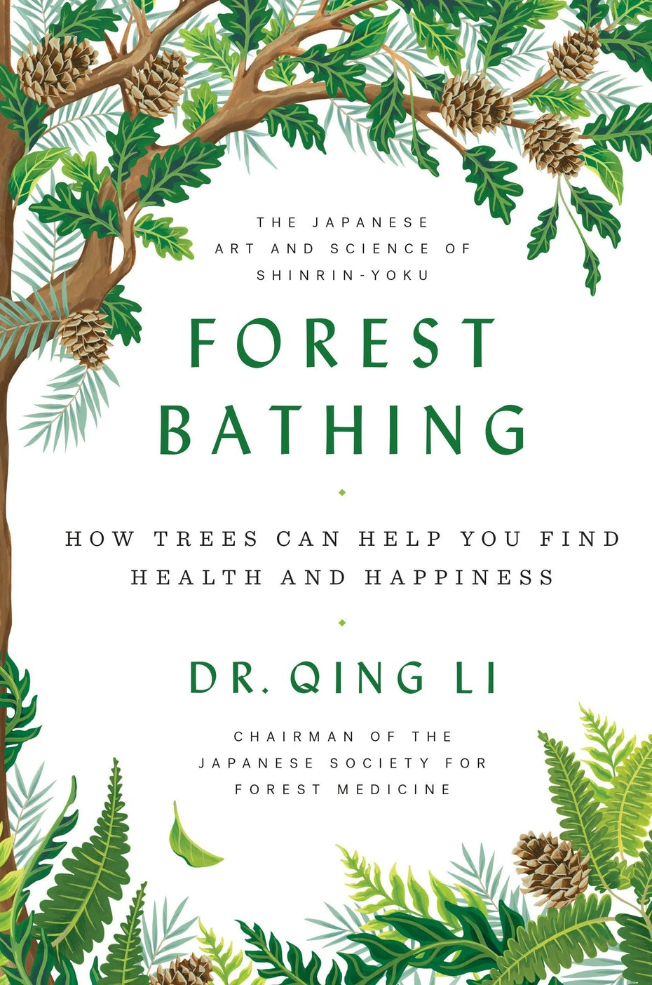 Forest bathing book cover