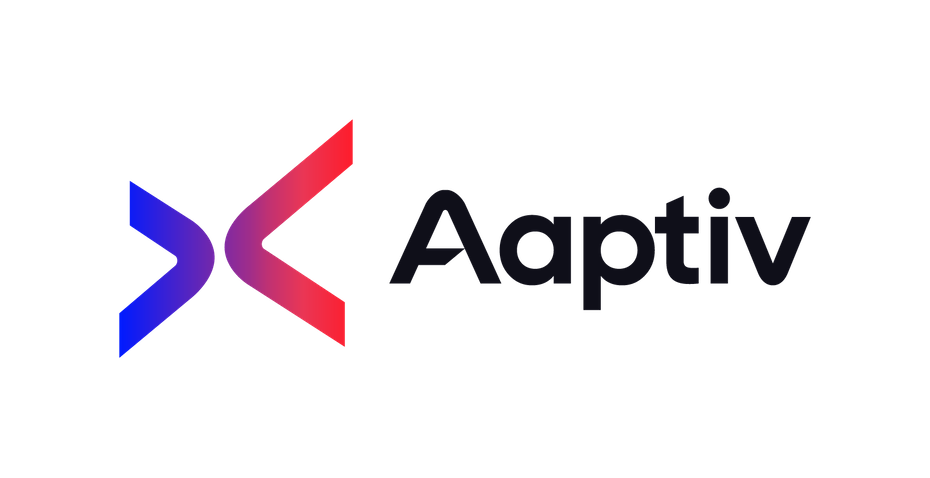 Aaptiv Logo mit farbverlauf
