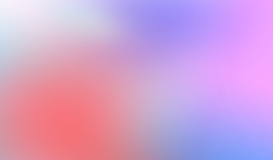 The gradient design trend: what it looks like and how to use it