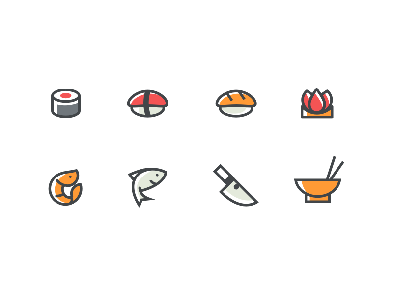 Free Japanese food icons