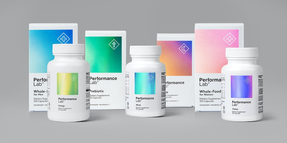 Performance Lab holographic design