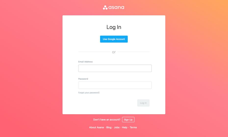 webdesign mit farbverlauf