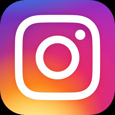 Instagram logo mit farbverlauf