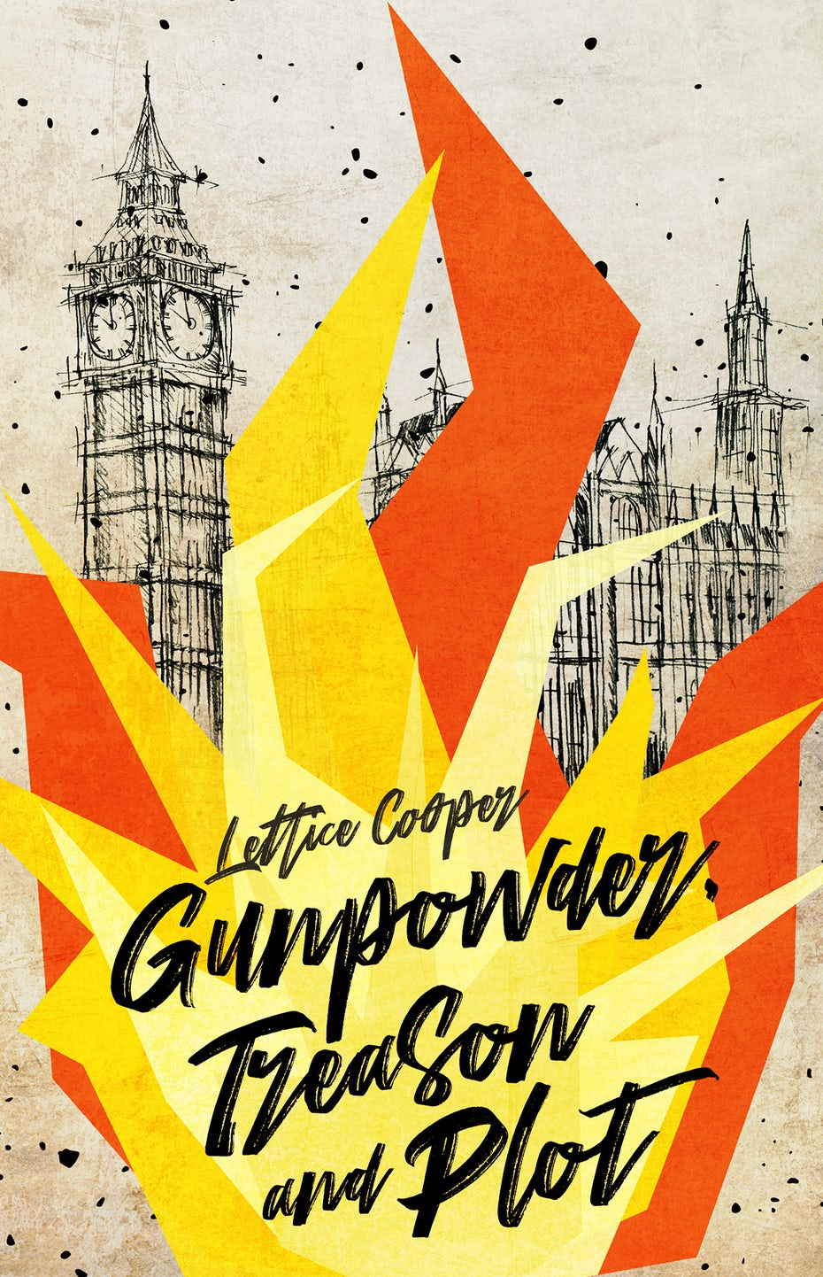Gunpowder treason and plot book cover