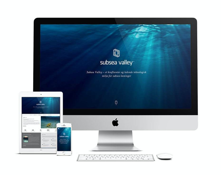 subsea valley web design