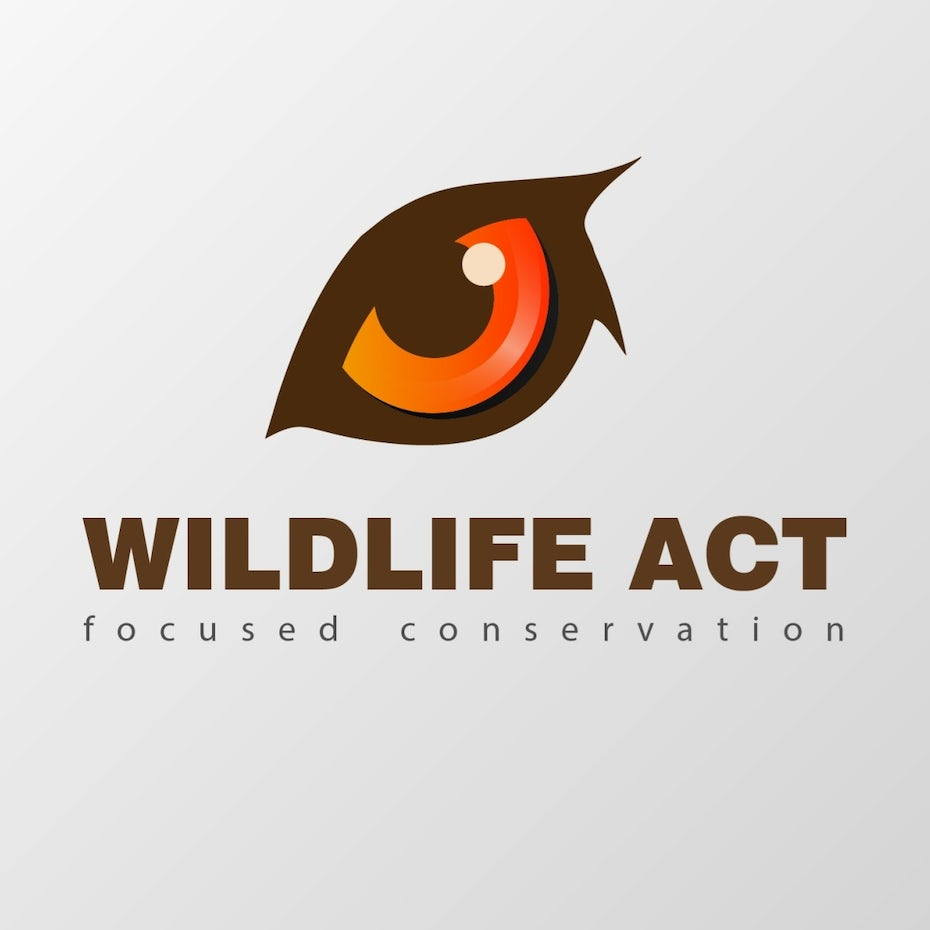 Wildlife Act eye logo