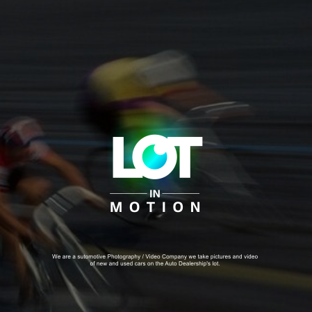 Blurred bicycles racing by