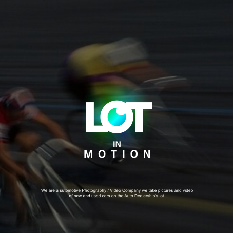 Blurred bicycles racing