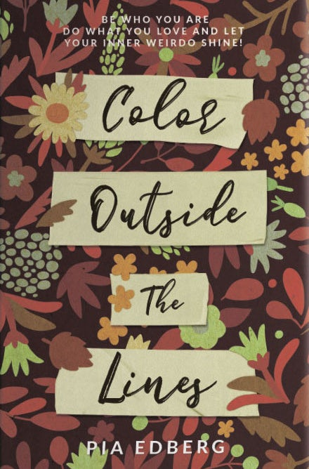 Color outside the lines book cover