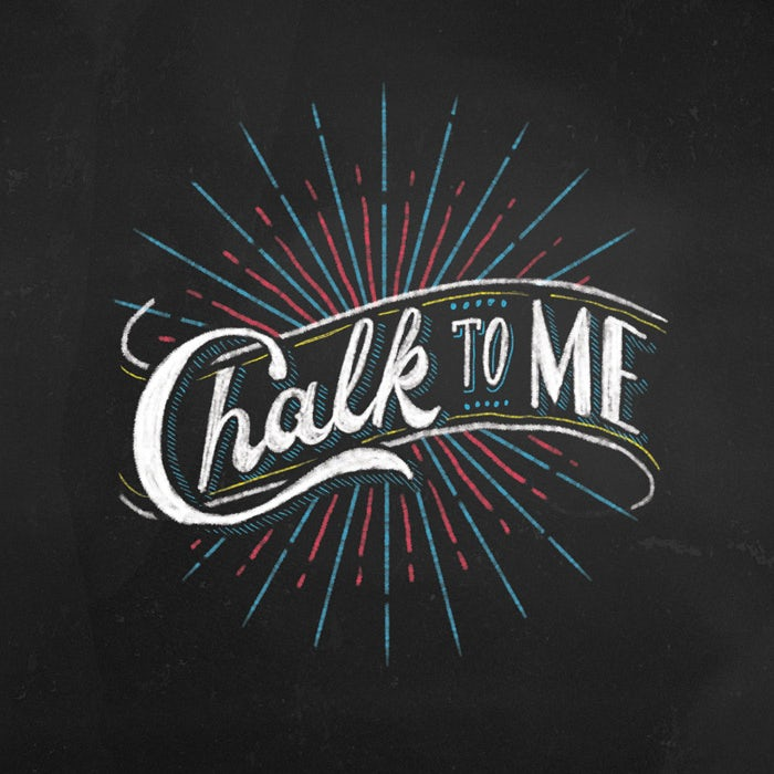 hand lettering chalk