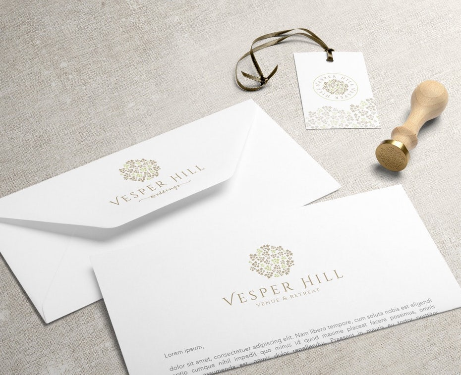 Vesper Hills responsive logo