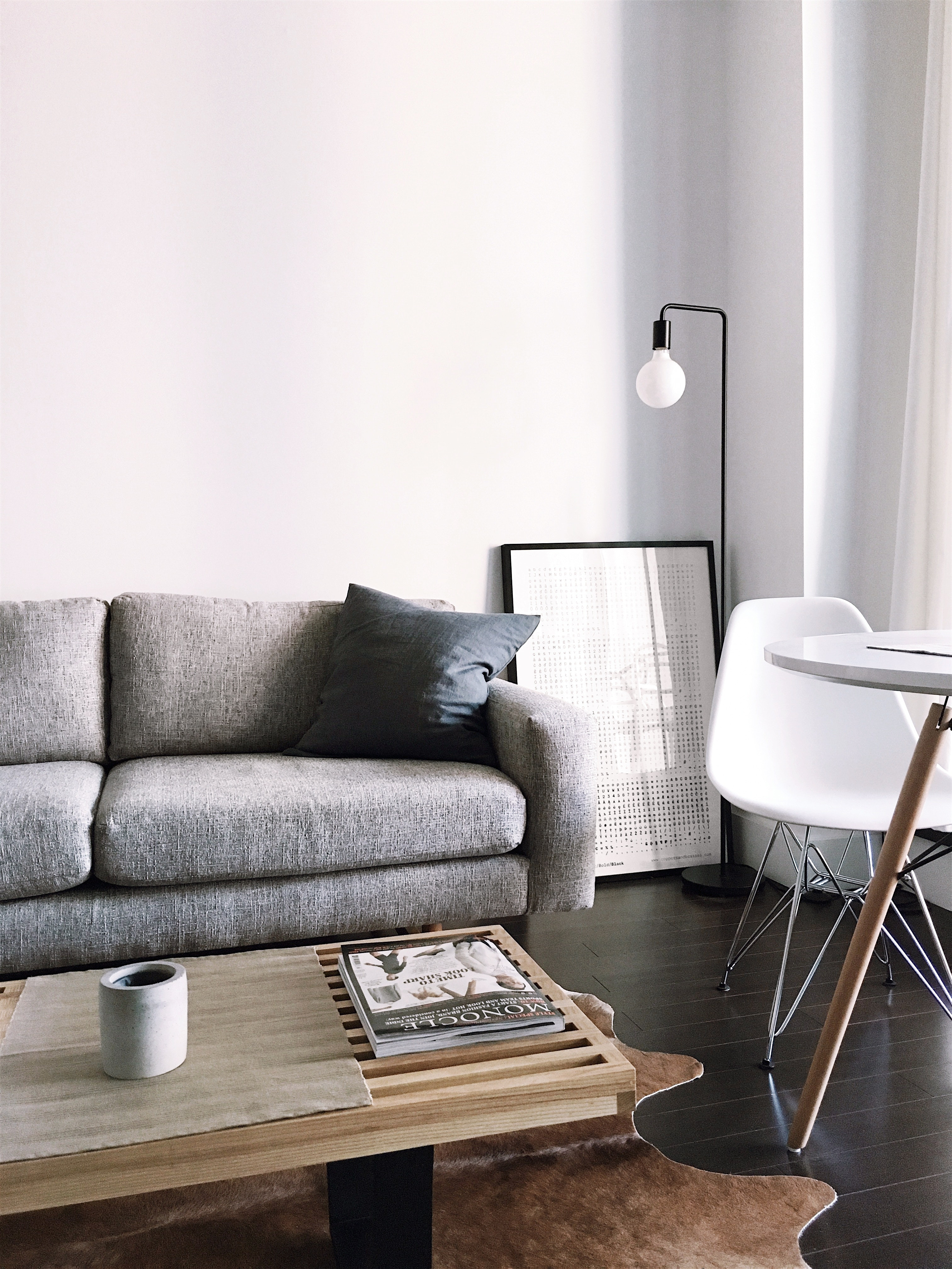 minimalismus farben