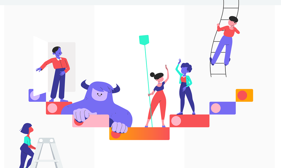 Oddfellows' animations for Asana