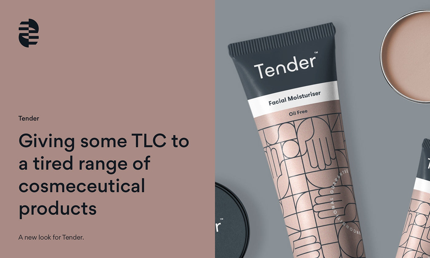 product packaging for Tender