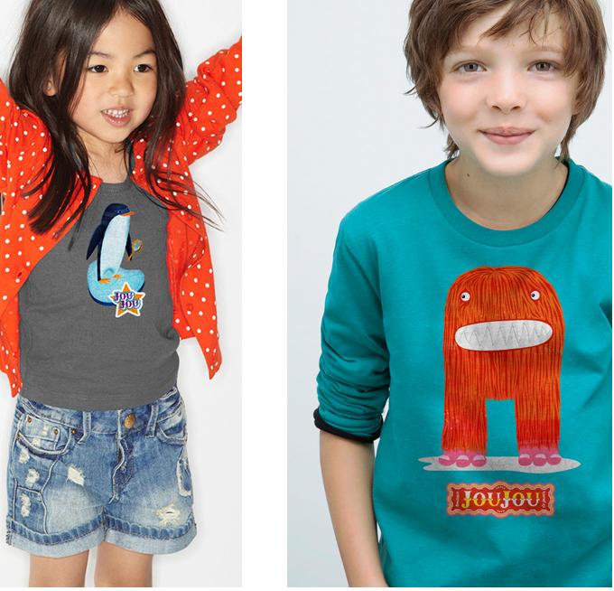 kids tshirt designs for joujou