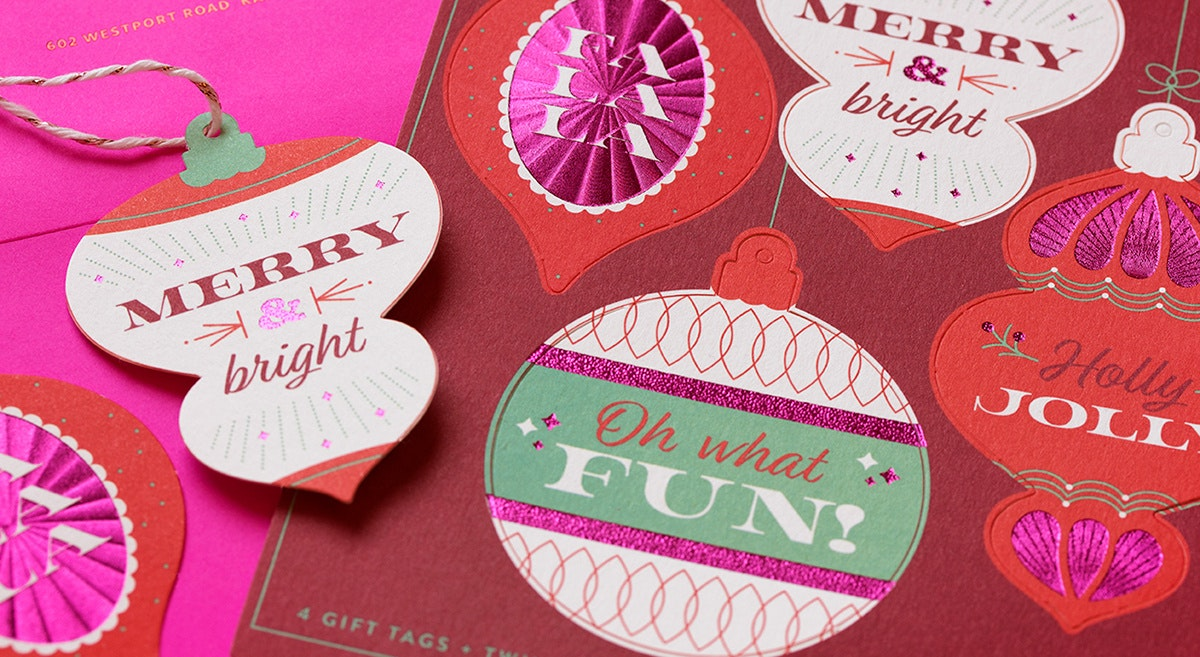 holiday tags by willoughby