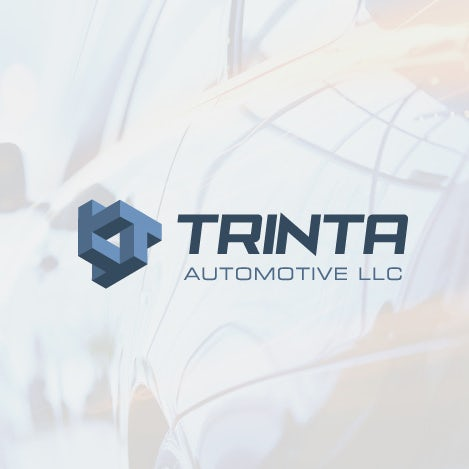 Isometric logo design for Trinta