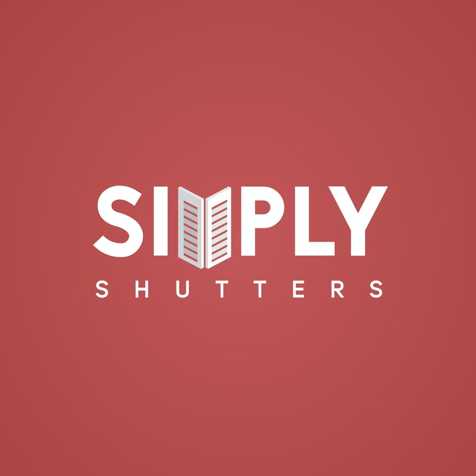Isometric logo of a shutter