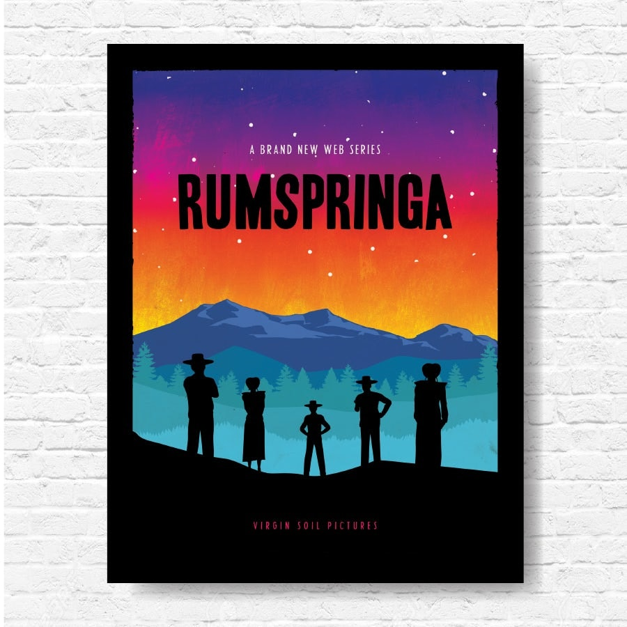 Rumspringa poster design