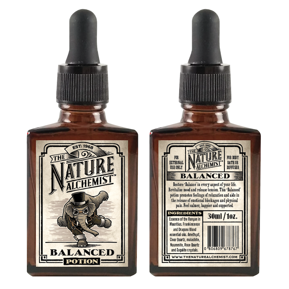 The Nature Alchemist product packaging