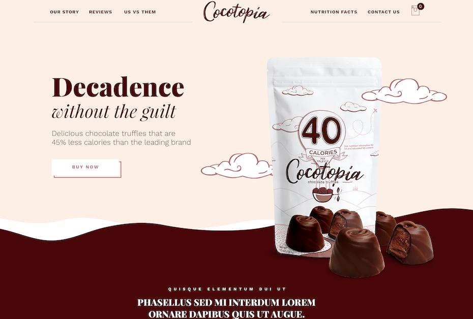 Cocotopia Web Page