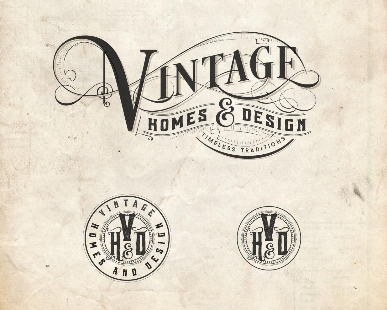 Vintage Homes and Design logo